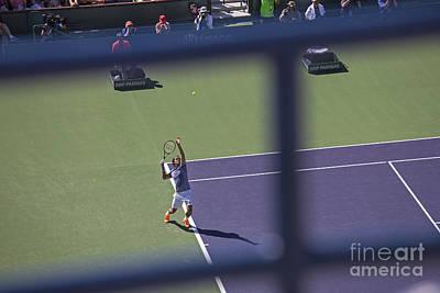 Federer Photograph - Roger by Shishir Sathe