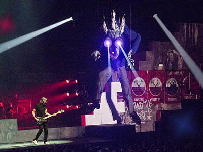 Roger Waters-pink Floyd -wall Tour 2012 Grand Rapids Original by Dorin Stef