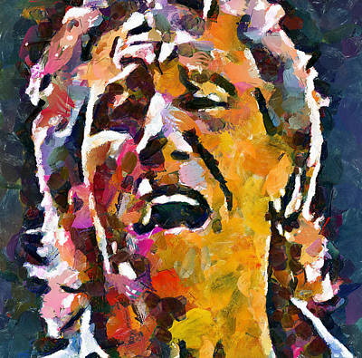 Pink Floyd Digital Art - Roger Waters Pink Floyd by Yury Malkov