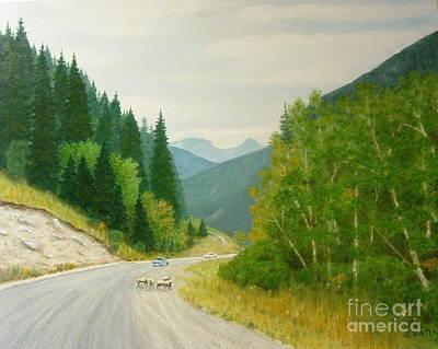Rogers Pass Bc Art Print