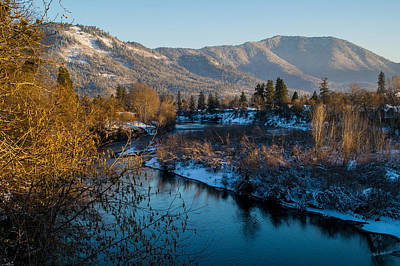 Photograph - Rogue River Winter by Mick Anderson