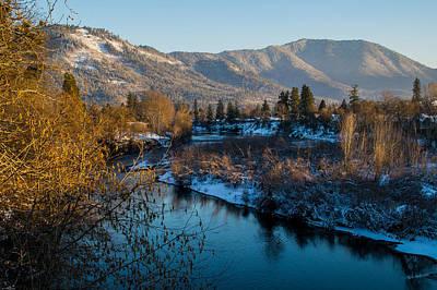 Rogue River Winter Art Print
