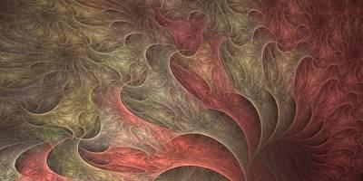 Roiling Pink Vortex Art Print by Doug Morgan