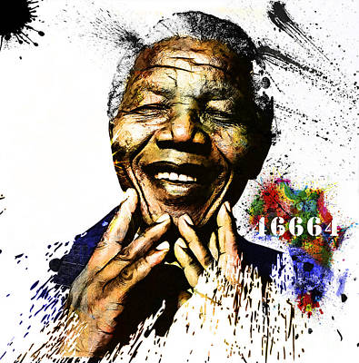 Mandela Digital Art - Rolihlahla by The DigArtisT