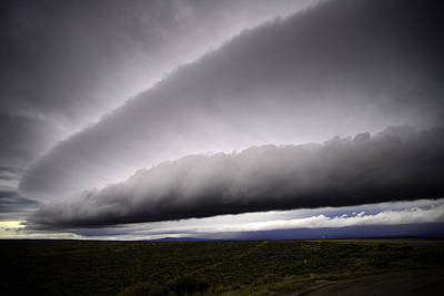 Photograph - Roll And Shelf Clouds On South Hill by Eric Nielsen