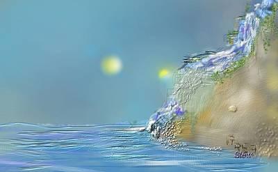 Roll Down Water Roll Art Print by Greg Stew