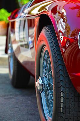 Photograph - Roll In Ferrari by Deprise Brescia
