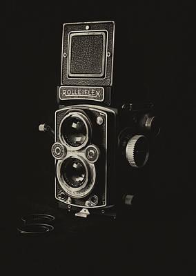 Photograph - Rolleiflex by Leah Palmer