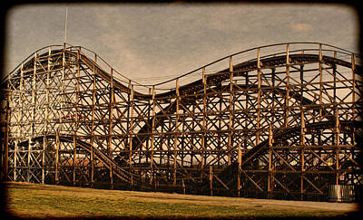 Photograph - Roller Coaster 1 by Ron Roberts
