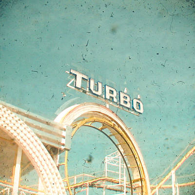 Roller Coaster Photograph - Roller Coaster by Cassia Beck