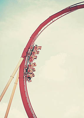 Roller Coaster Photograph - Roller Coaster by Jessie Gould