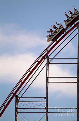 Roller Coaster Photograph - Roller Coaster by Novastock
