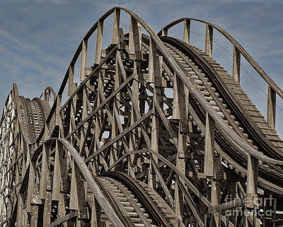 Photograph - Roller Coaster by Ron Roberts