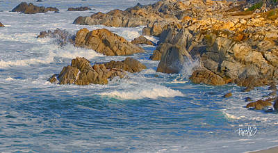 Photograph - Rollers II - Asilomar State Beach by Jim Pavelle