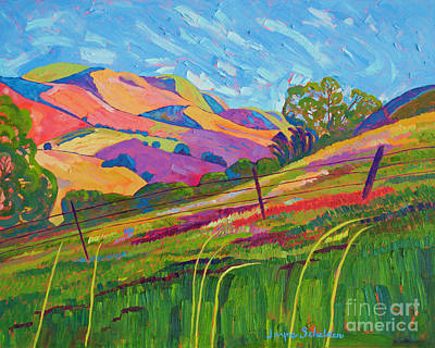 Loose Painting - Rolling Color by Jayne Schelden