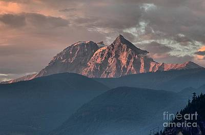 Photograph - Rolling Hills And Purple Tantalus Peaks by Adam Jewell