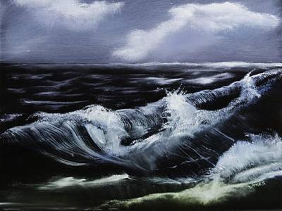 Painting - Rolling In by Barry Jones