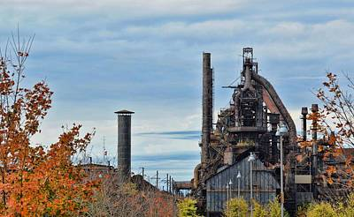 Photograph - Rolling Mill by JAMART Photography