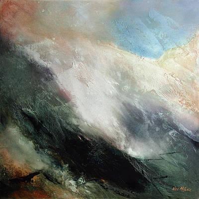 English Landscape Painting - Rolling Mist by Neil McBride