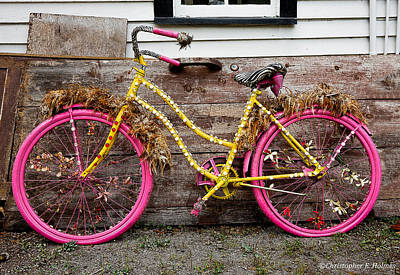 Photograph - Rolling On Pink by Christopher Holmes