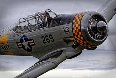 Aviation Wall Art - Photograph - Rolling Over by Thomas T.