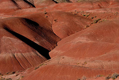 Photograph - Rolling Red Hills by Nadalyn Larsen