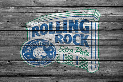 Beer Photograph - Rolling Rock by Joe Hamilton