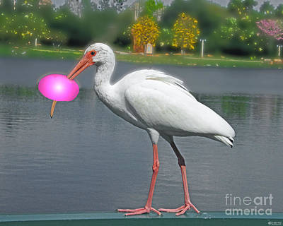 Digital Art - Rolling Roger Stick Ball by Lizi Beard-Ward