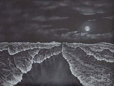 Rolling Sea Art Print