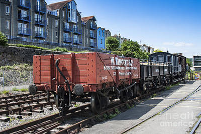 Photograph - Rolling Stock by Brian Roscorla