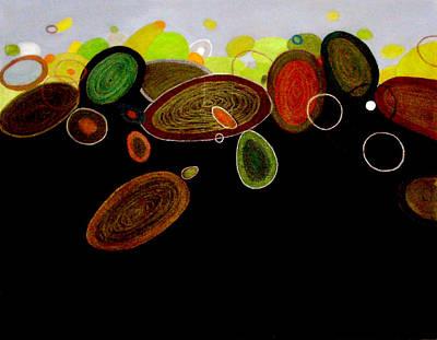 Rolling Stones Art Print by Farah Faizal