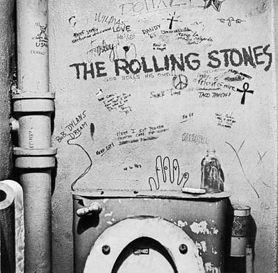 Rolling Stone Magazine Photograph - Rolling Stones by Empty Wall
