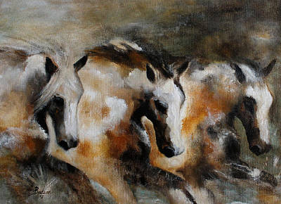 Painting - Rolling Thunder by Barbie Batson