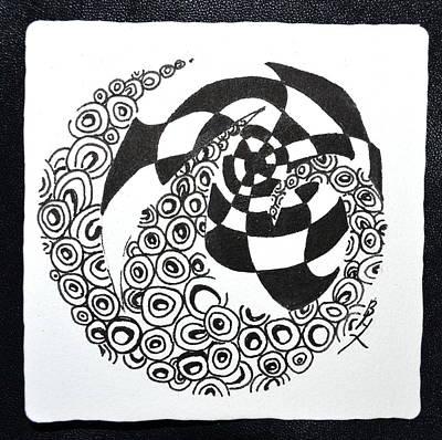 Rolling Zen Original by Beverley Harper Tinsley