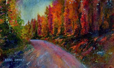 Pastel Painting - Rollins Pass by Abbie Groves