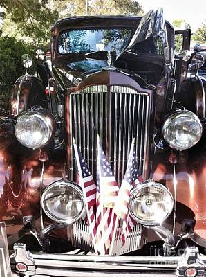 Photograph - Rolls Royce Car  by Susan Garren