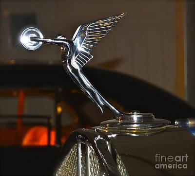 Pop Art - Rolls Royce Emblem by Pamela Walrath
