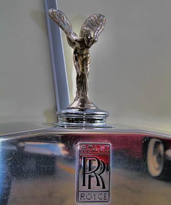 Rolls Royce Hood Ornament Art Print