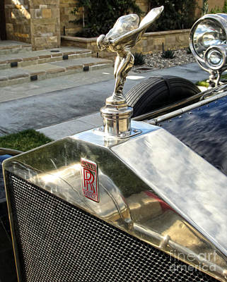 Photograph - Rolls Royce Hood Ornament by Gregory Dyer