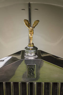 Photograph - Rolls Royce by Jack R Perry