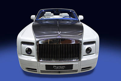 Photograph - Rolls Royce Phantom by Radoslav Nedelchev