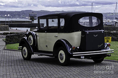 Photograph - Rolls Royce - Regent by Mary Carol Story