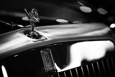 Rolls Royce Print by Sebastian Musial