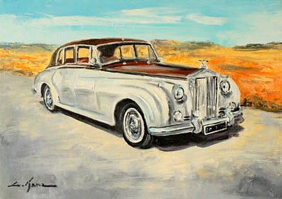 Rolls Royce Silver Cloud Art Print