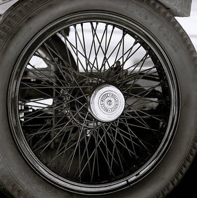 Rolls Royce Wheel Art Print