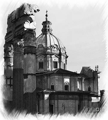 Roma Black And White Original by Stefano Senise