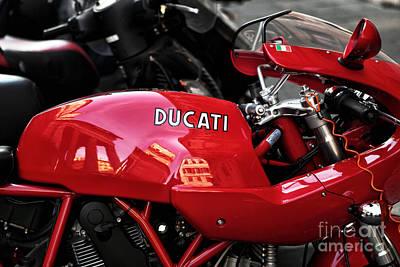 Photograph - Roma Ducati by John Rizzuto