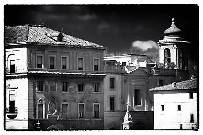 Photograph - Roma Roof Tops by John Rizzuto