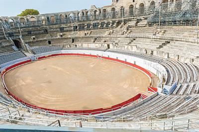 Photograph - Roman Amphiteathre In Arles France. by Marek Poplawski
