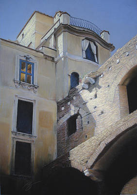 Pastel - Roman Apartments - Pastel by Ben Kotyuk